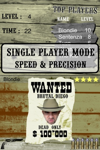 Outlaws for iPhone : shootout fast draw duel mode last man standing