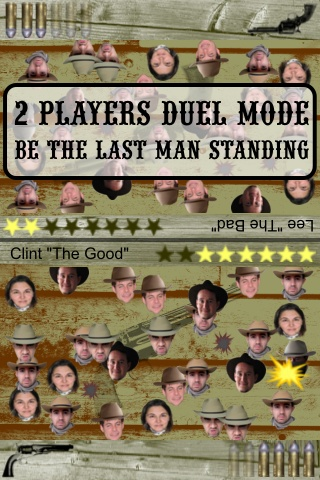 Outlaws for iPhone : 2 players multiplayer duel mode
