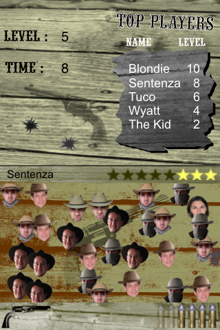 Outlaws for iPhone : coming soon (shootout cow-boys gunfight fast draw)